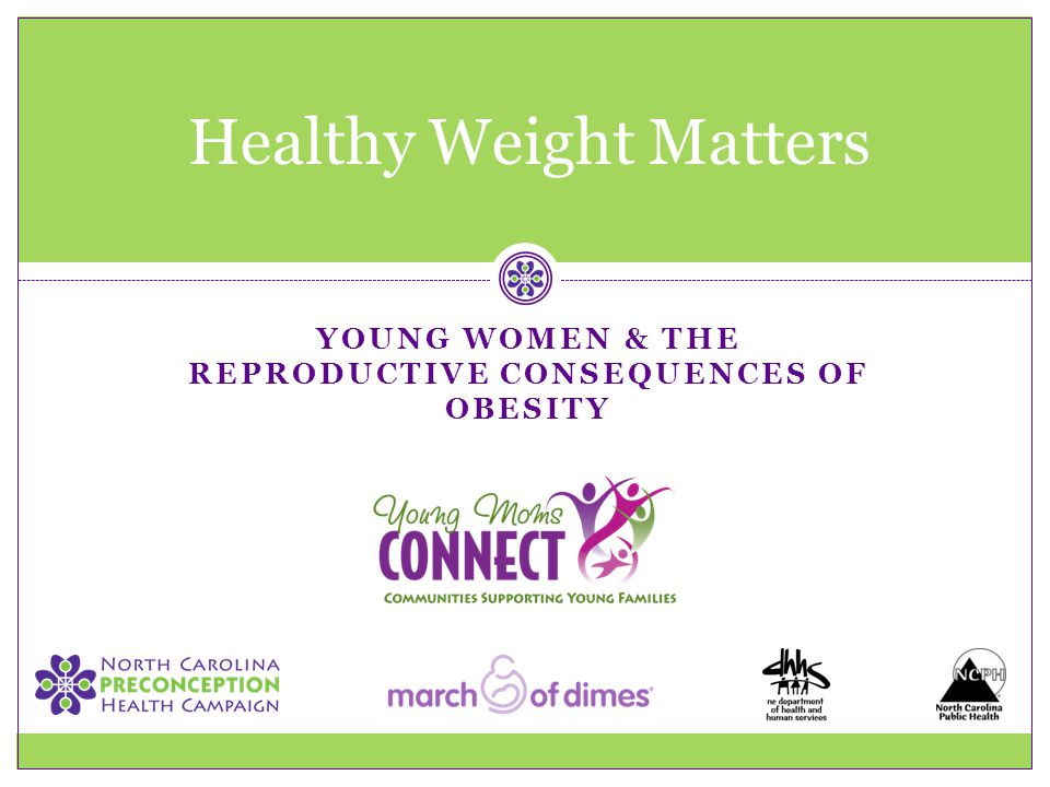 Healthy Weight Matters