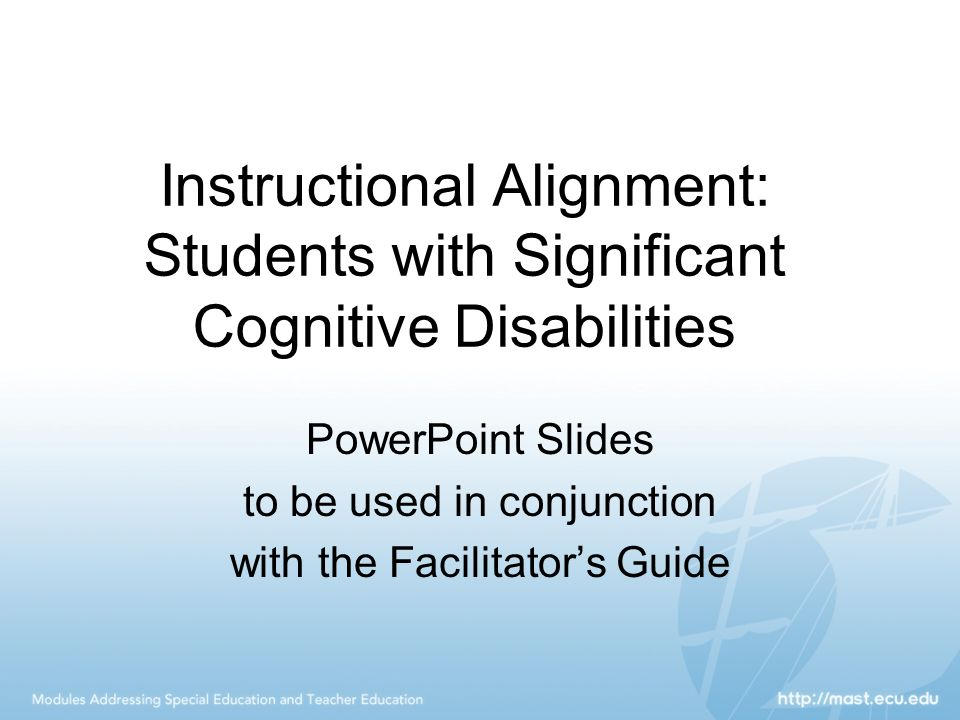 significant cognitive disabilities Especially in terms of teaching students with significant cognitive disabilities   with severe cognitive disabilities may use nonlinguistic communication and.