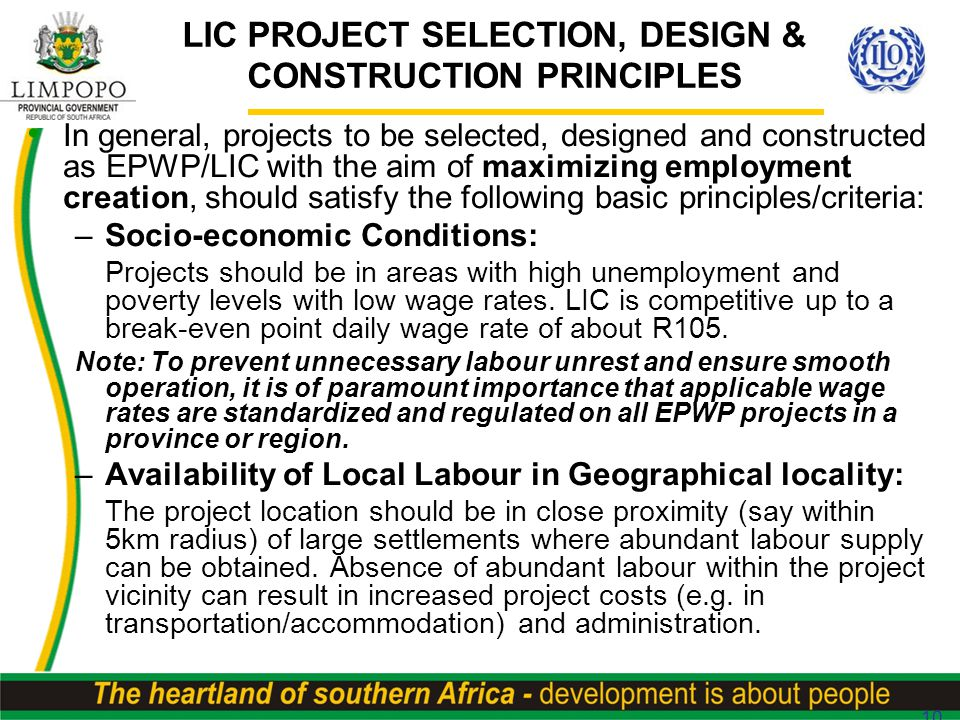 All Of The Following Are Principles Of Design Except : Limpopo department of public works infrastructure summit