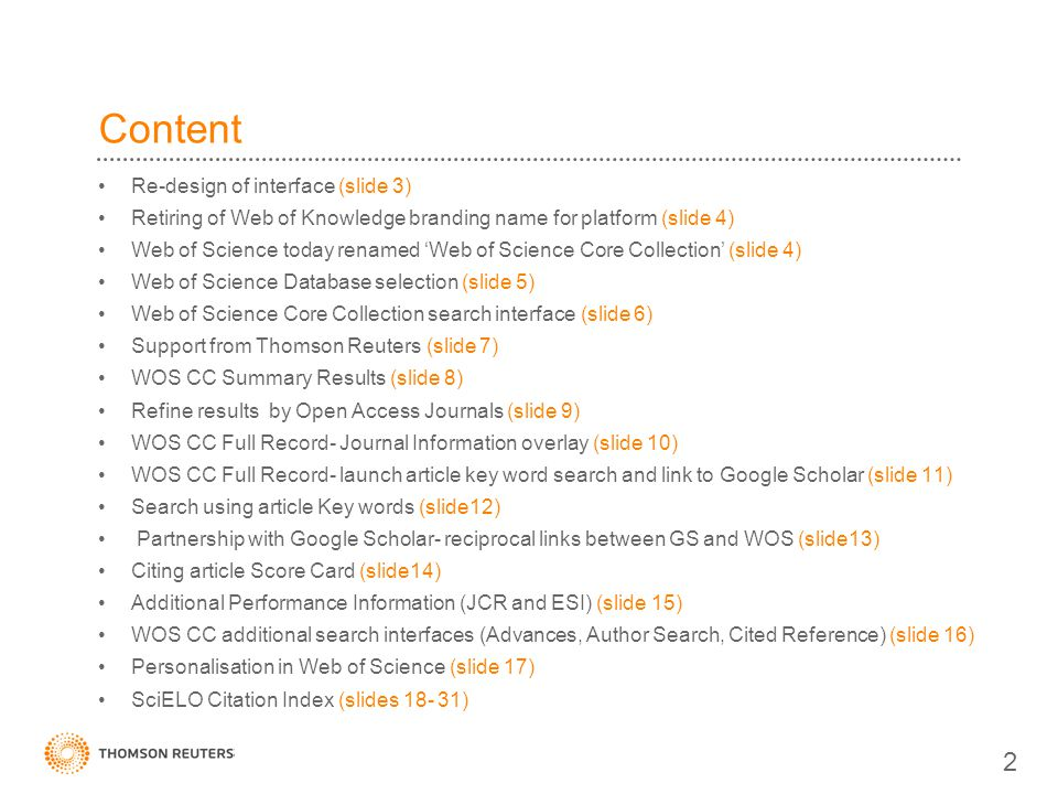 Content 2 Re-design of interface (slide 3)
