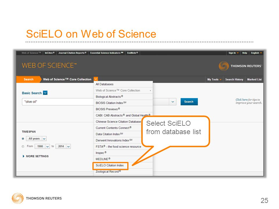 SciELO on Web of Science
