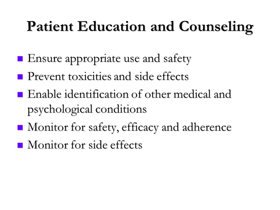 patient education and counseling pdf