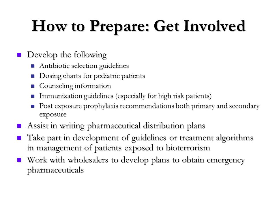 preparing for bioterrorism essay Get access to anthrax and bioterrorism essays only from anti essays listed this bioterrorism event preparing for and or recovering from a bioterrorism.