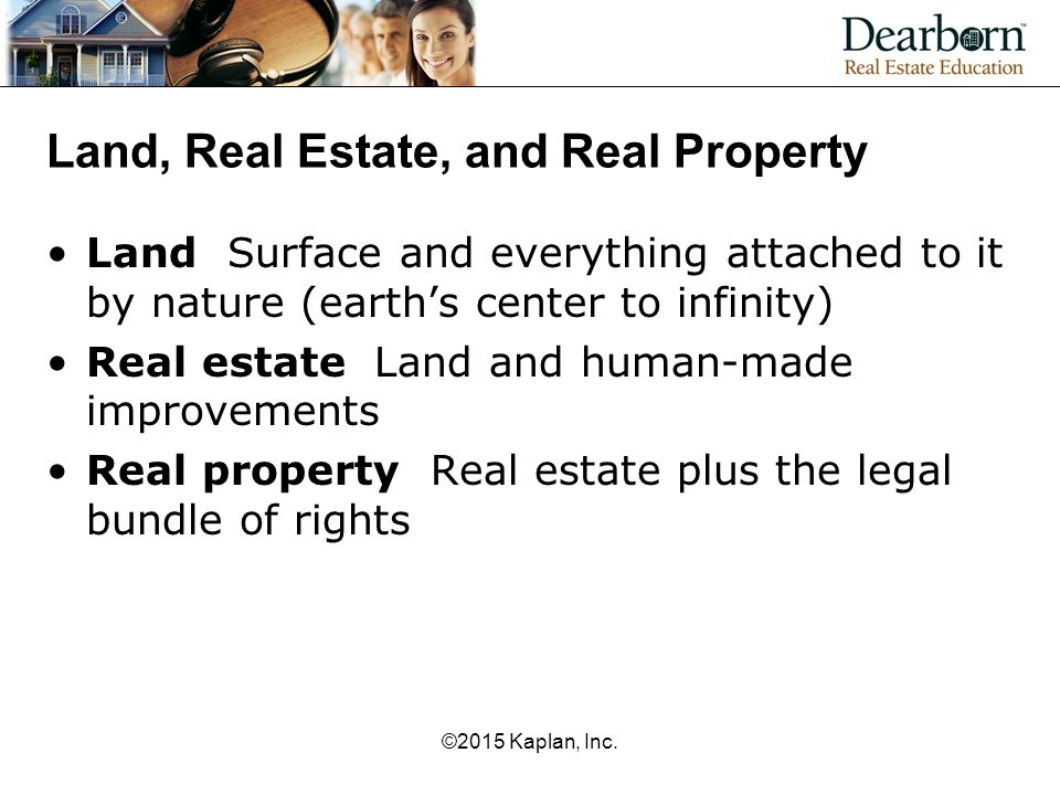 Legal Definition Of Interest In Real Property