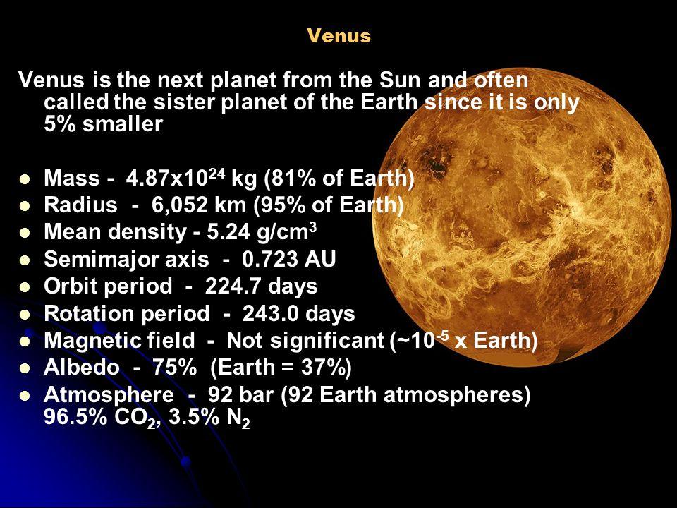planet venus mass - photo #13