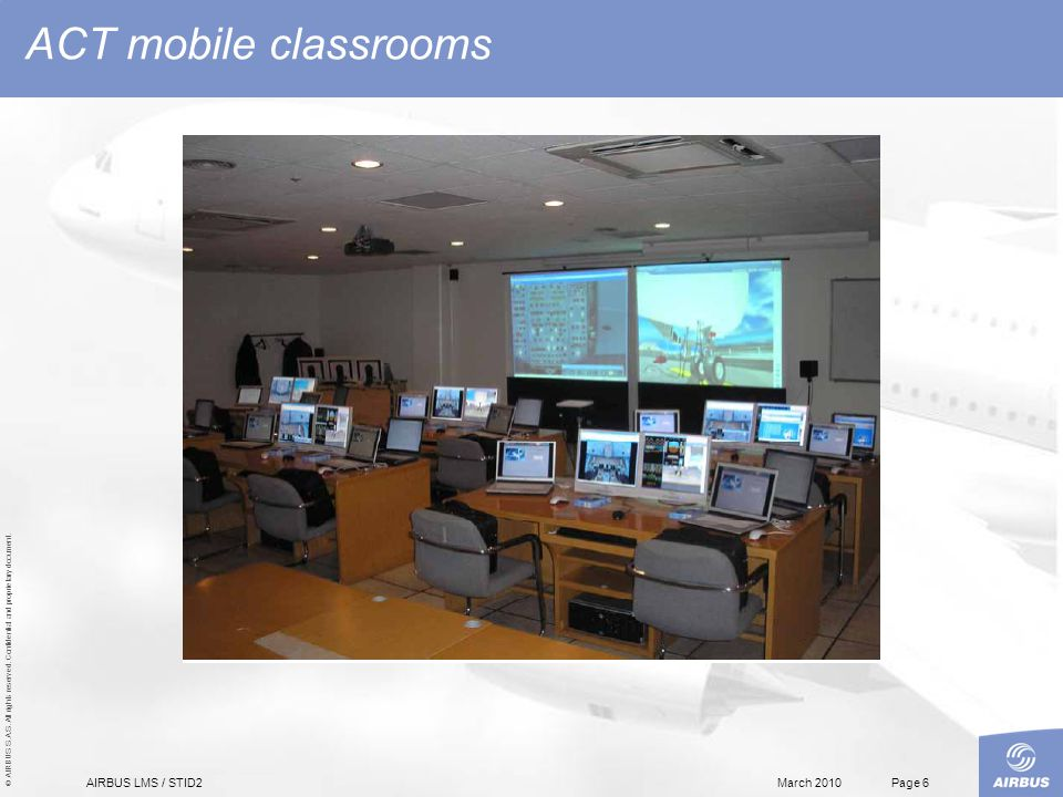 Classroom Design Software ~ Airbus lms training c b t software design ppt