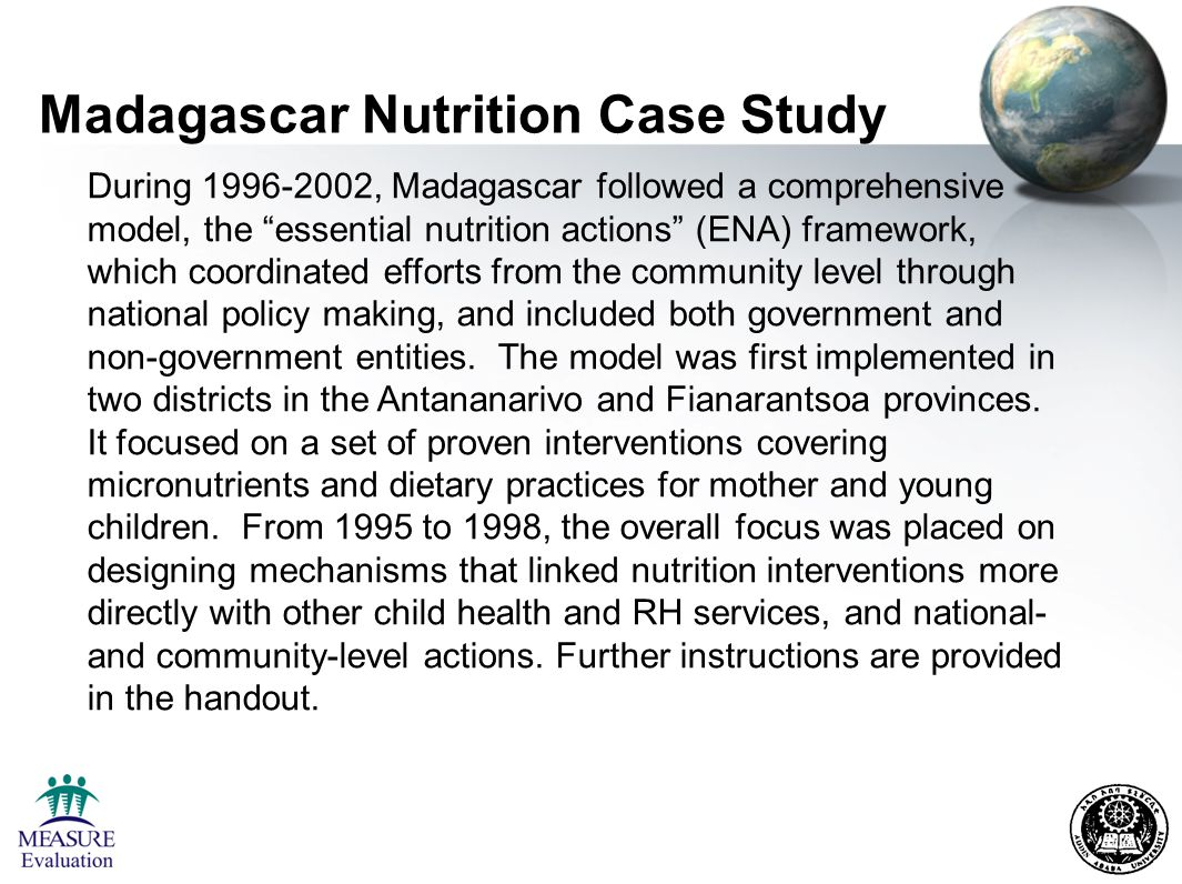 nutrition case study Nutrition case study examples case solution, analysis & case study help if antioxidants were being harmless, it wouldn't substantially issue when you took them.