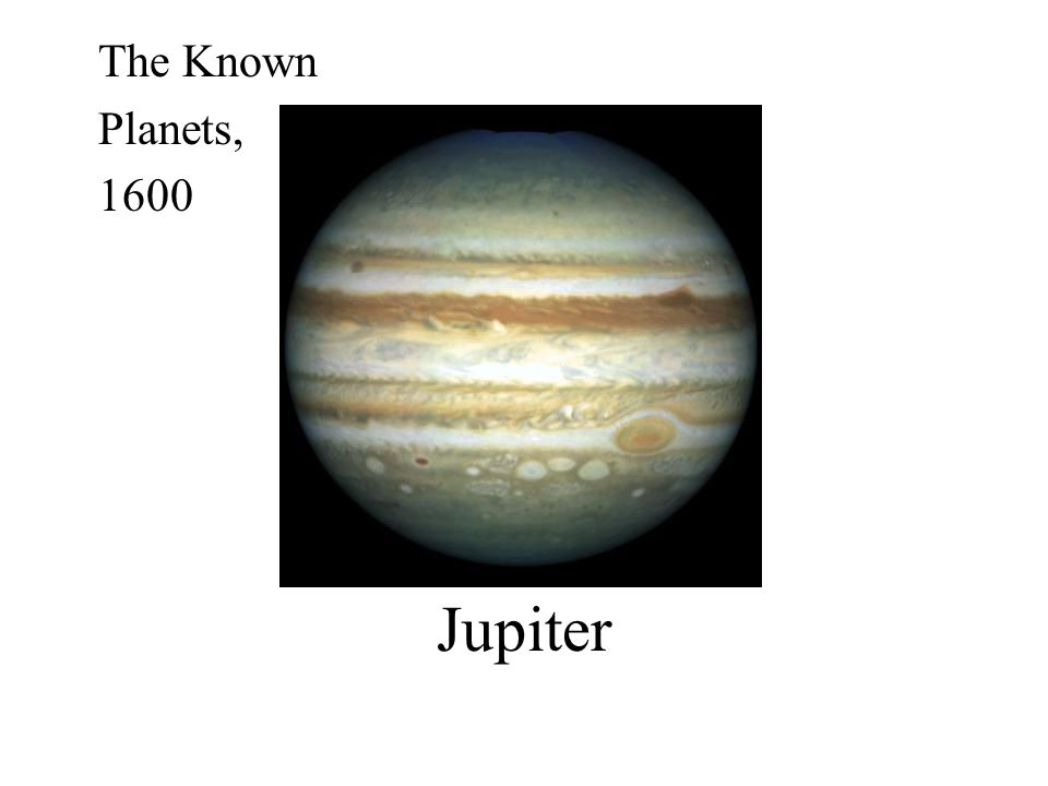 The Known Planets, 1600 Jupiter