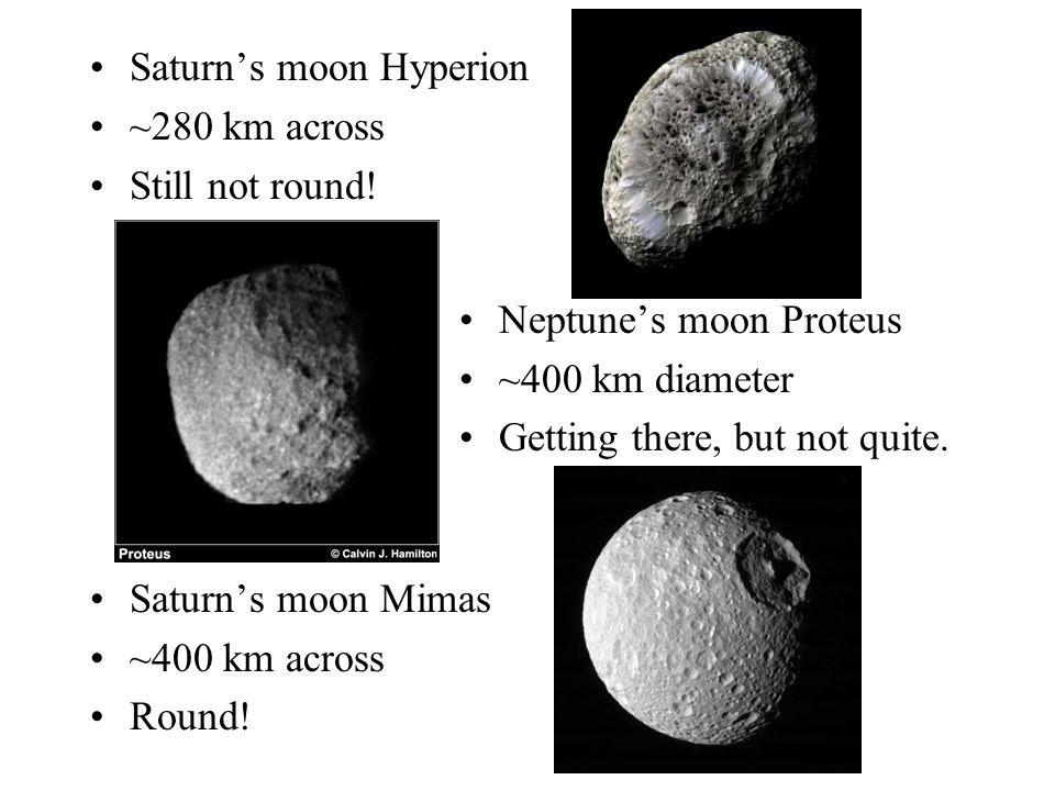 Saturn's moon Hyperion