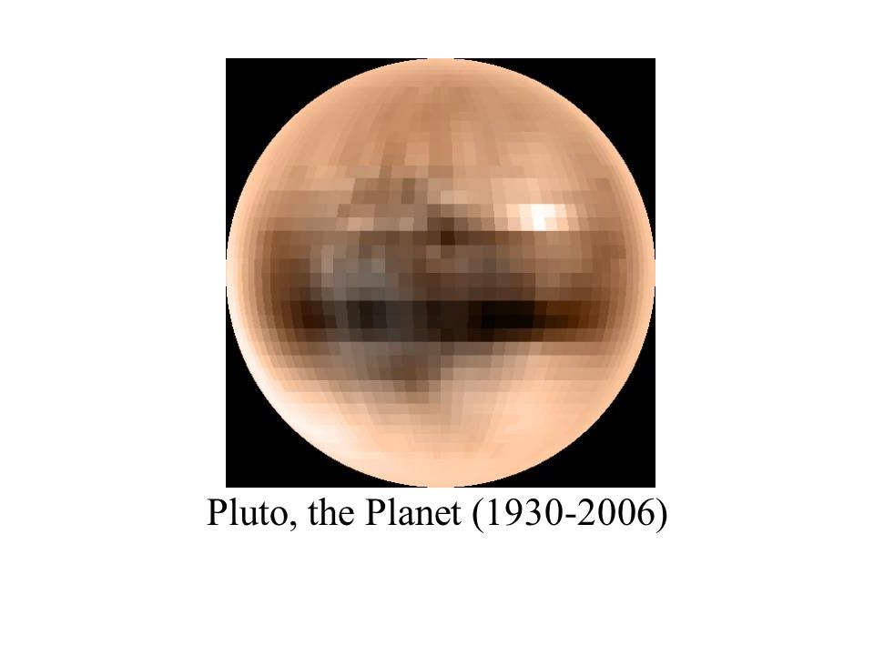 Pluto, the Planet (1930-2006)