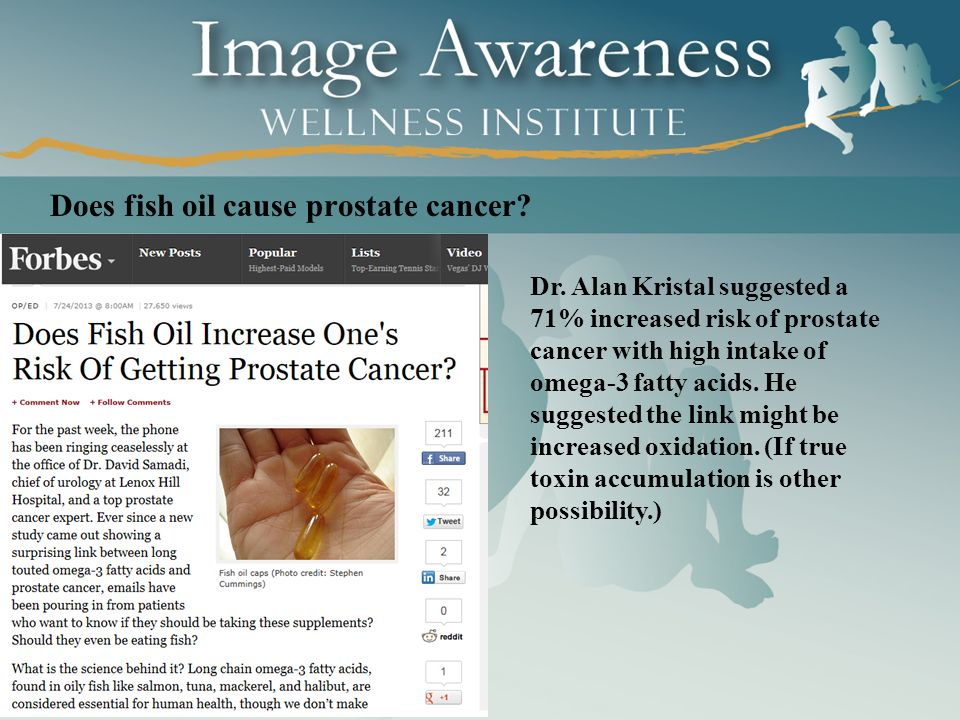 Introduction to questions ppt download for Fish oil prostate cancer