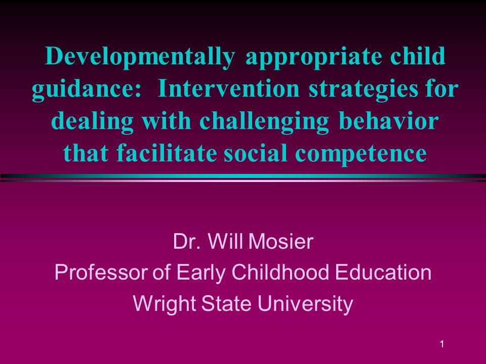 intervention strategies for children with developmental