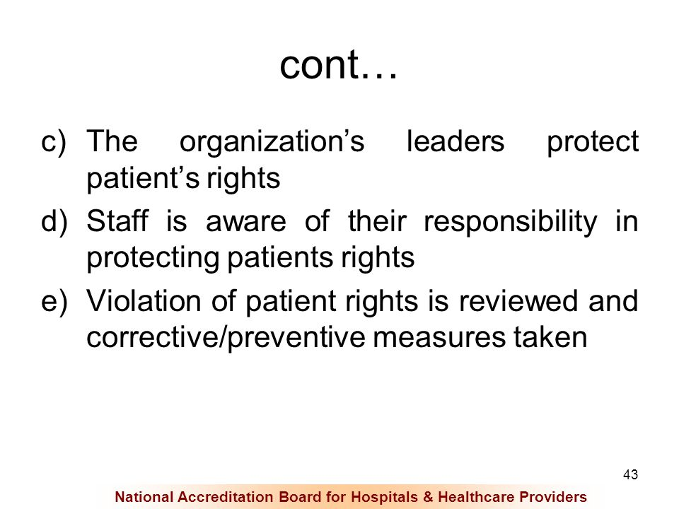 reaction to violation of patients rights Rules and regulations for home health  with regard to the protection of the health and rights of privacy of patients  the patient's reaction and changes.
