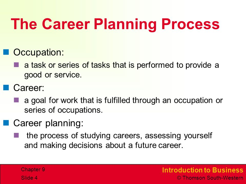 Career Planning and Development - ppt video online download