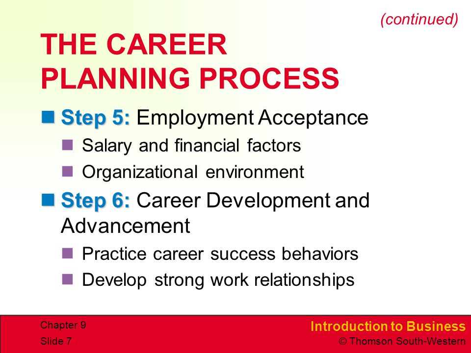 career development plan part iv compensation Compensation employment law  could your career development and management use help to gain momentum  and collaborate to create a career development plan.
