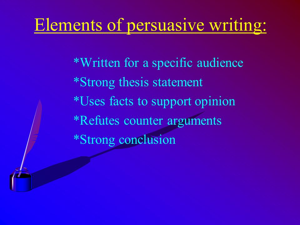 elements of a thesis statement - 28 images - elements of a