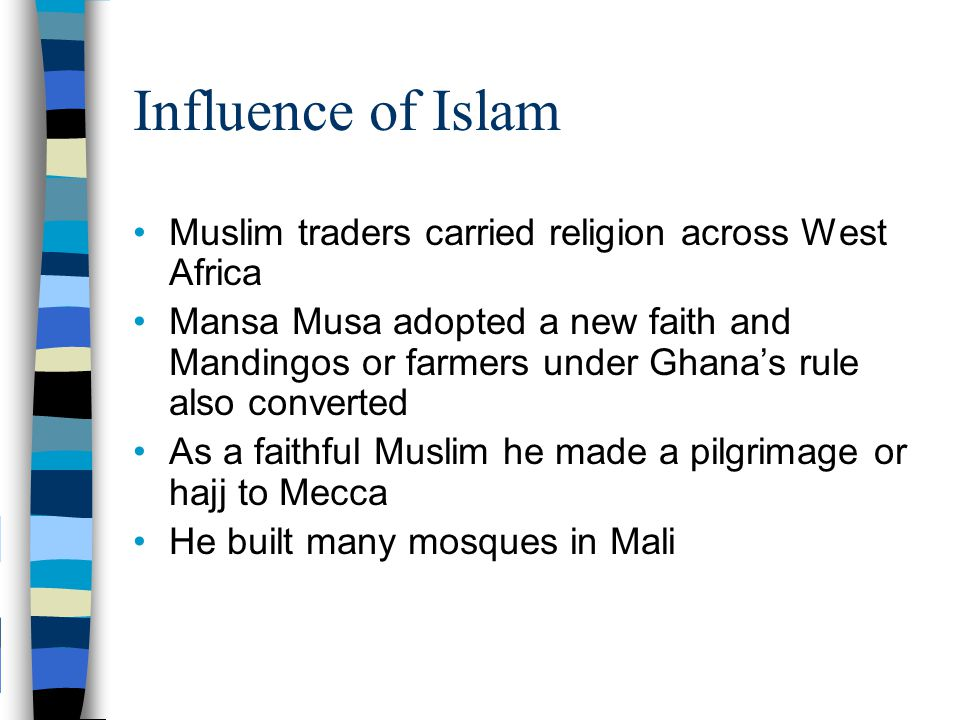 islam influence Islam is today the religion of more than 350 million muslims (or moslems or  if  the chief locus of influence was literary and linguistic, there was also exchange.