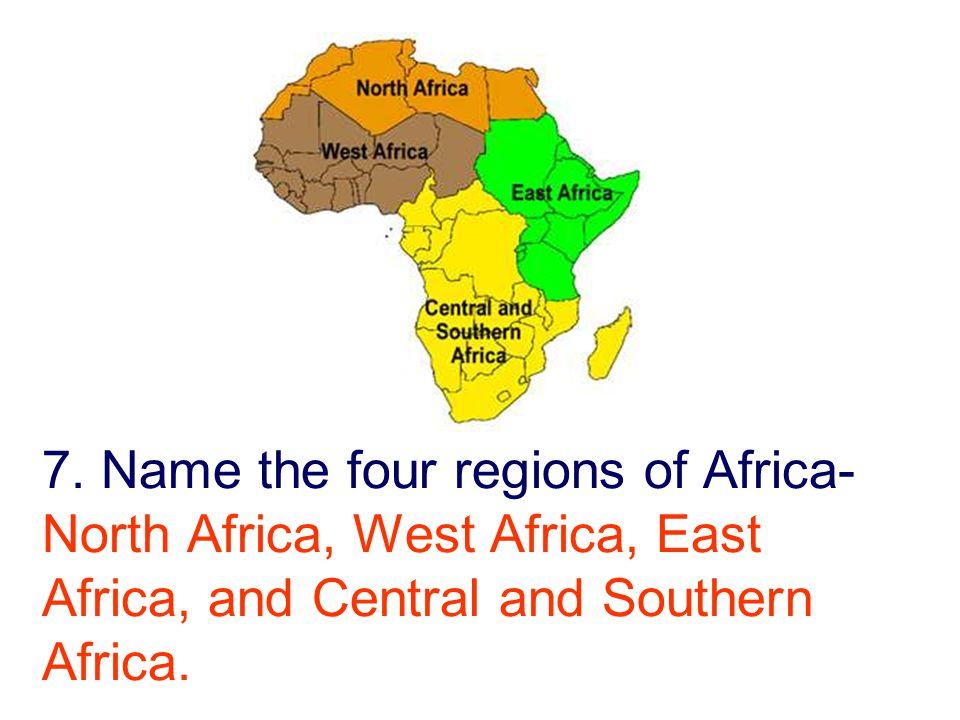 Th GRADE SOCIAL STUDIES Ppt Video Online Download - Regions of africa