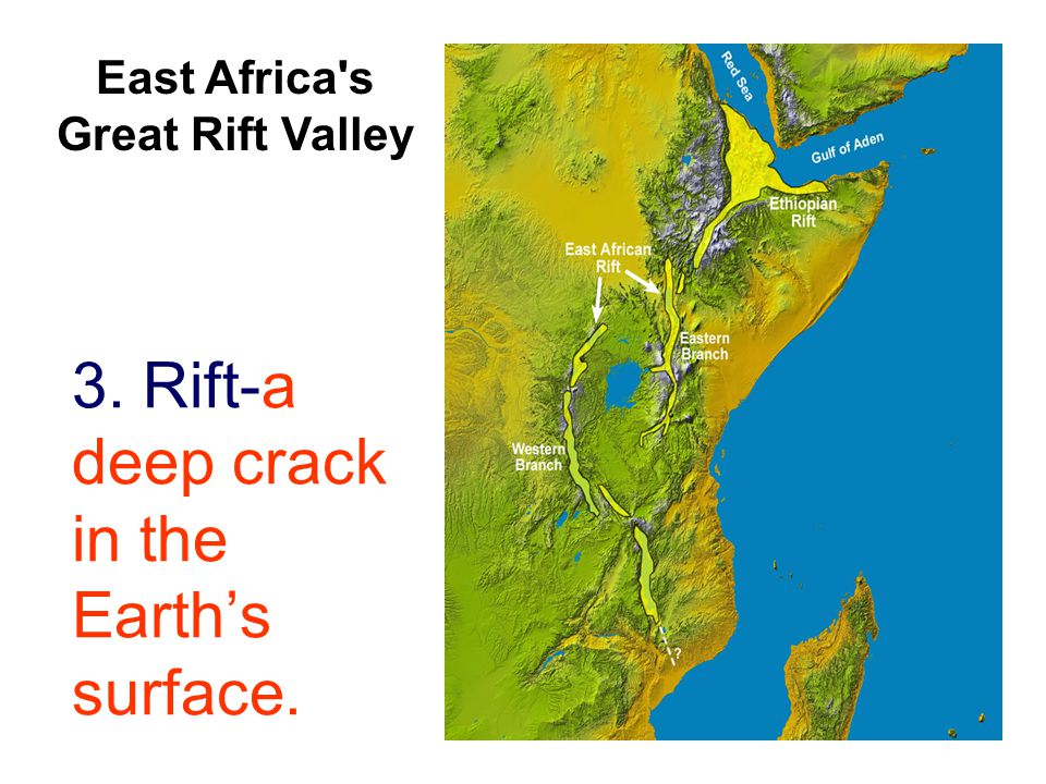 afrika rift valley