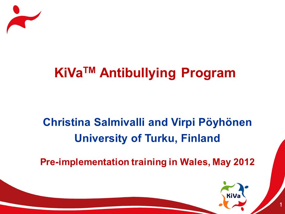 KiVaTM Antibullying Program