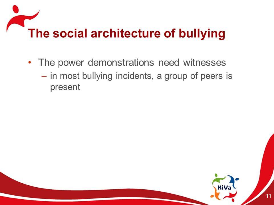 The social architecture of bullying