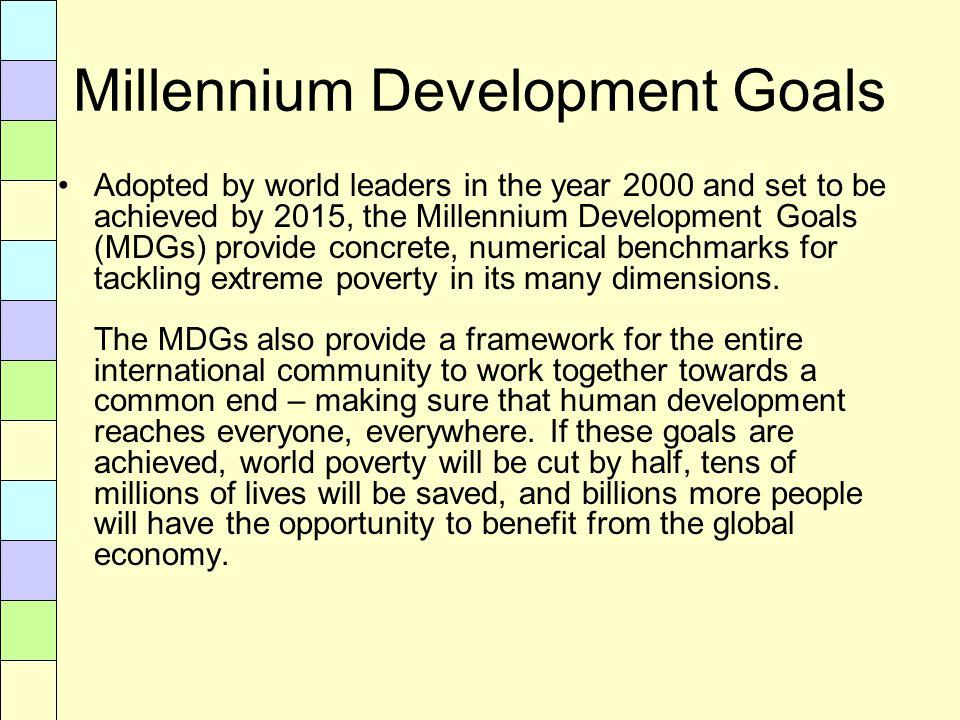 millennium development goals pdf download