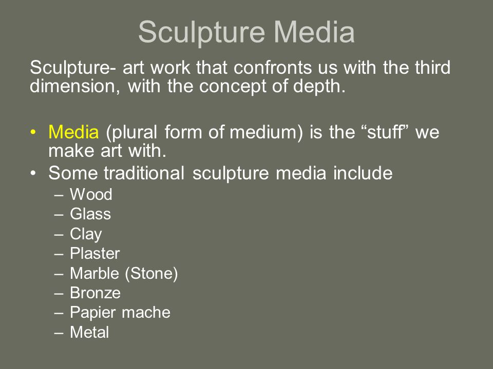 Three – Dimensional Media - ppt video online download