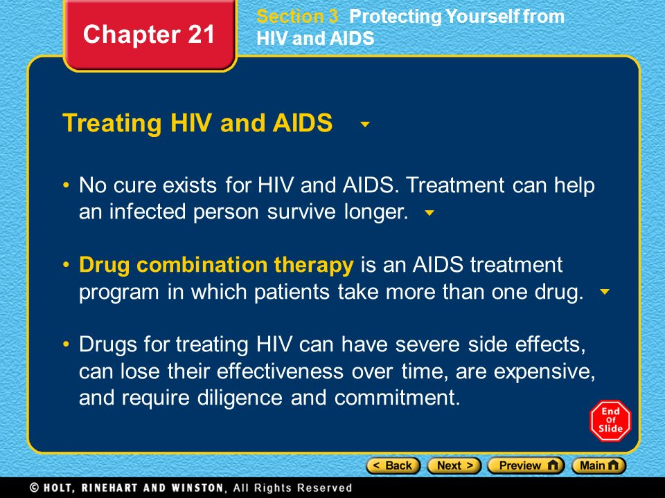 Chapter 21 Treating HIV and AIDS