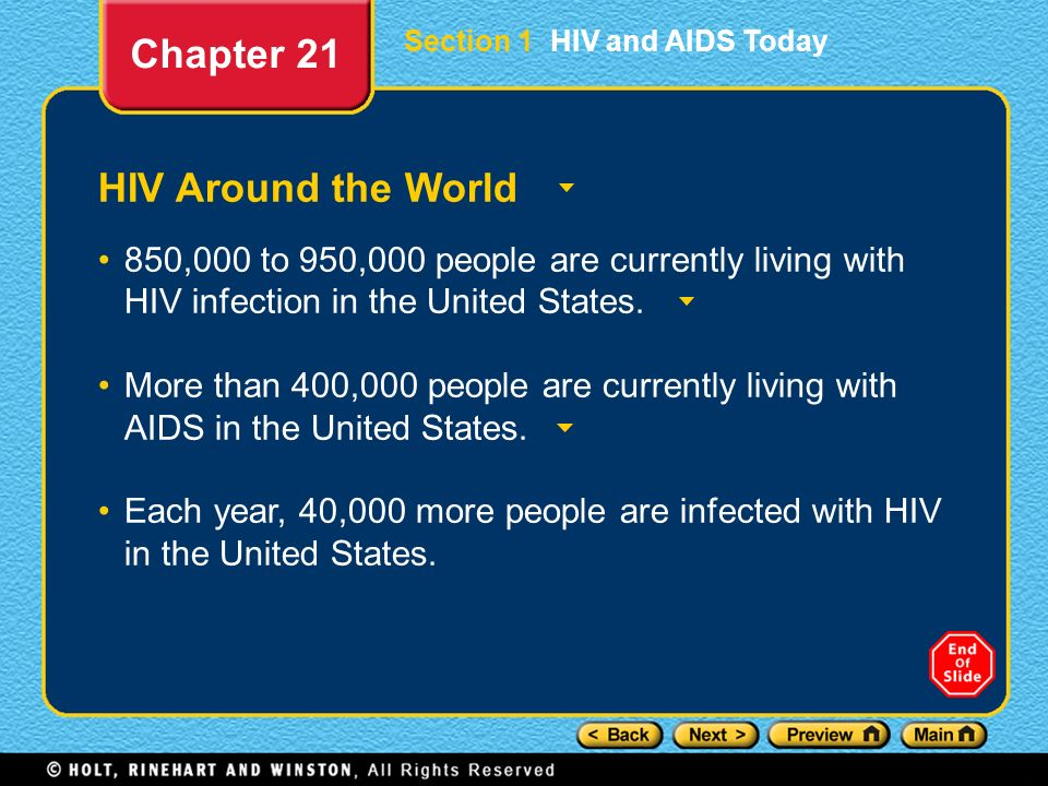 Chapter 21 HIV Around the World