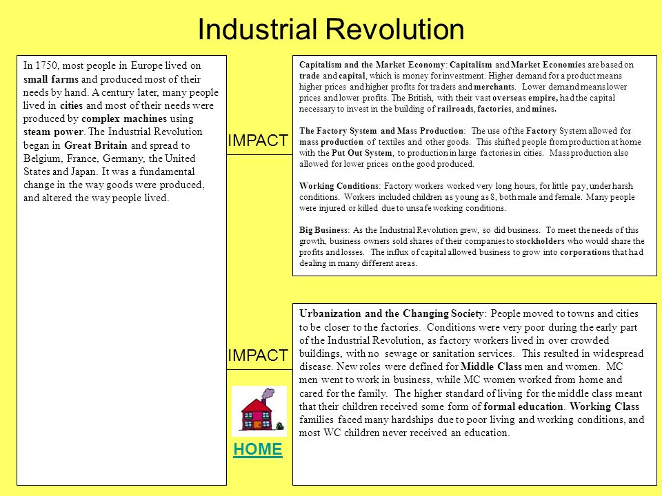 People's Perception in the Industrial Revolution Essay Sample