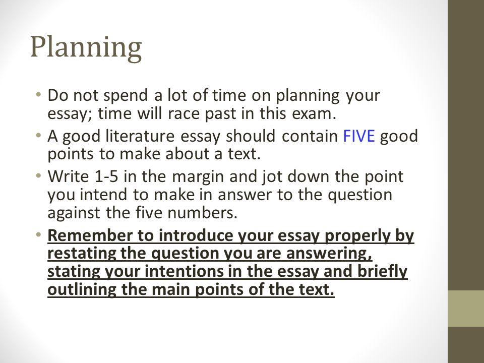 higher english discursive essays