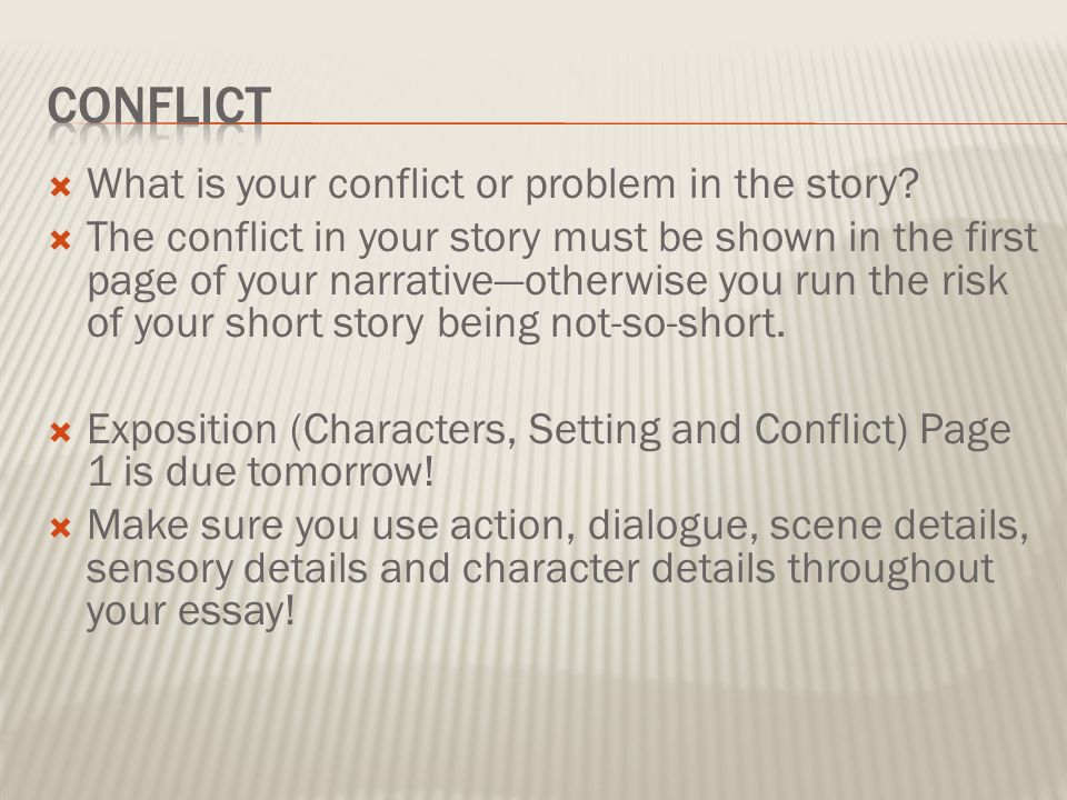 narrative essay of tomorrow when the The narrative voice is all tomorrow, when the war began isn't exactly written in a grammatically familiar way: tomorrow points to a period of time that hasn't.