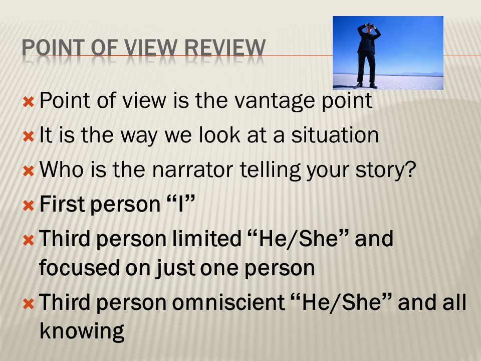 vantage essay This essay is concerned with complex narrative in the poorly reviewed puzzle film , vantage point taking a semiotic approach, it suggests that the readings of.