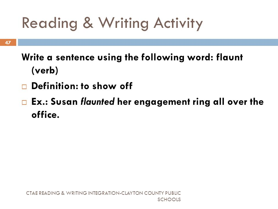 Ring Definition Verb