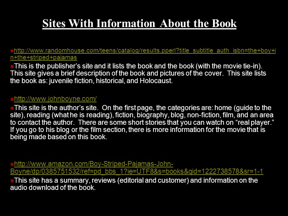 the boy in the striped pajamas john boyne ppt  sites information about the book