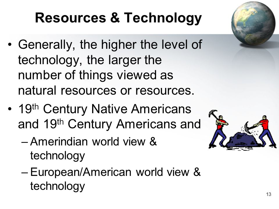 Resources & Technology