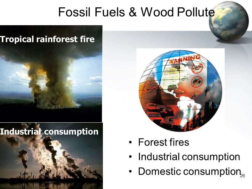 Fossil Fuels & Wood Pollute
