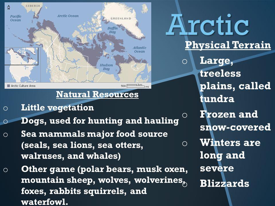 Subarctic Natural Resources Resources