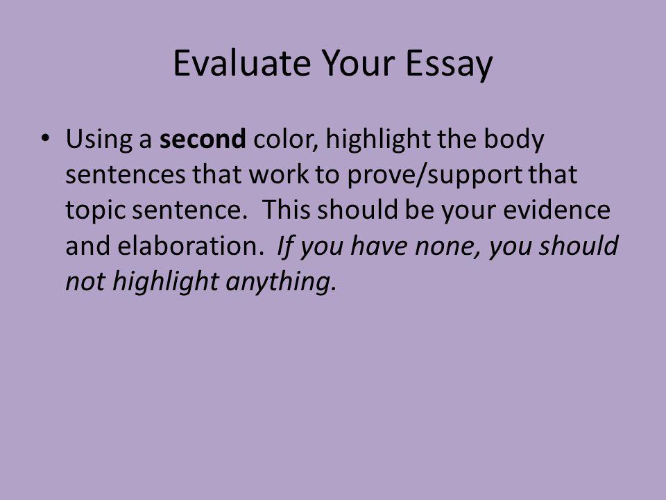 Color Essay