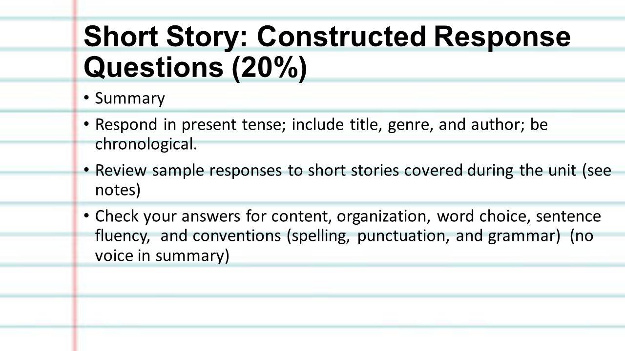 short story summaries essay