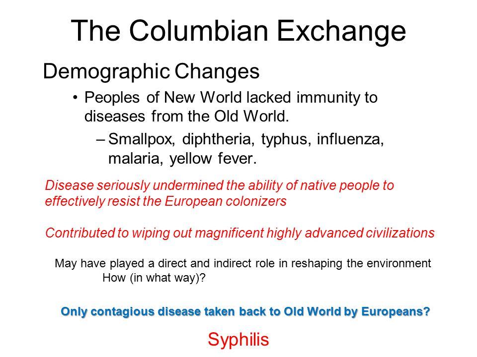 columbian exchange change and continuity