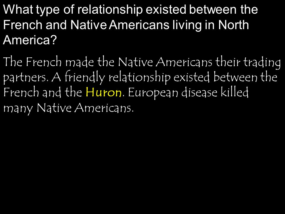 the relationship between native americans and european