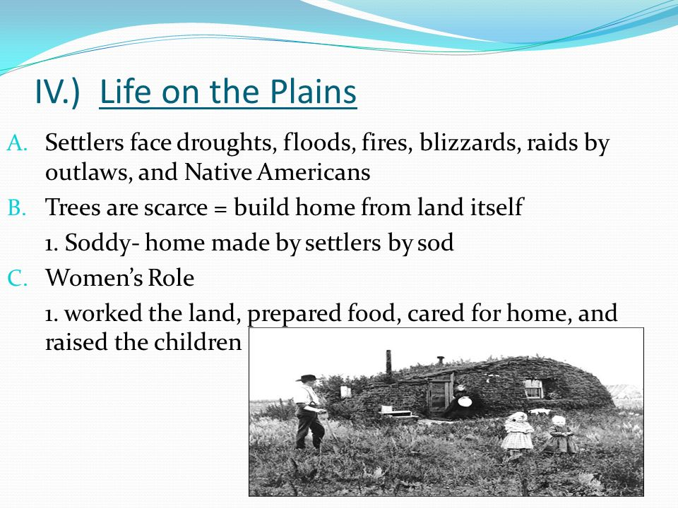 Settling On The Great Plains Ppt Download