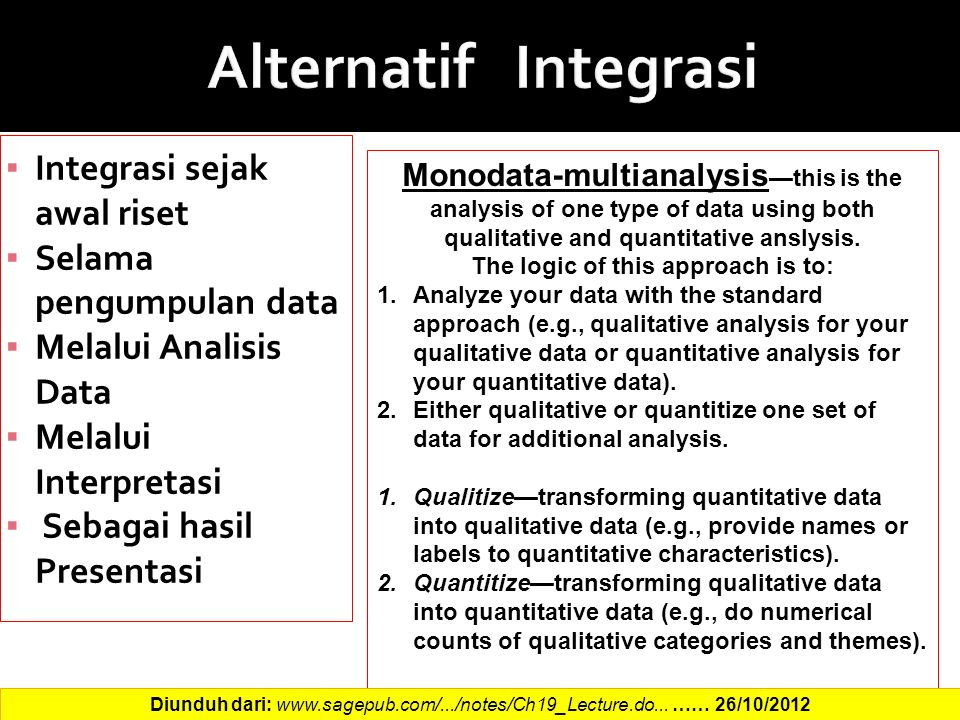 quantitative research anslysis Data analysis in mixed methods research consists of analyzing the qualitative data using qualitative methods and the quantitative data using quantitative methods therefore, knowing the steps in both forms of analysis is necessary in mixed methods research (creswell & plano clark, 2007.