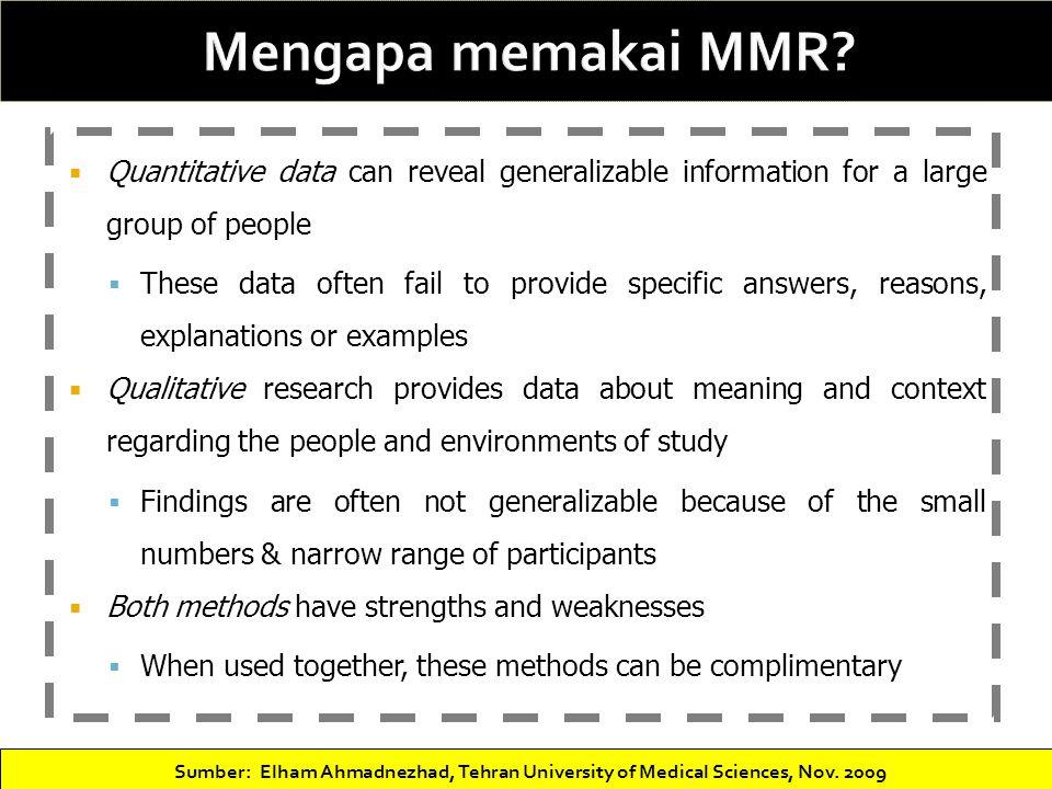 Case study for mmr