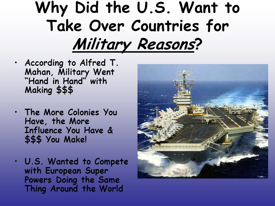 Why did the united states withdraw