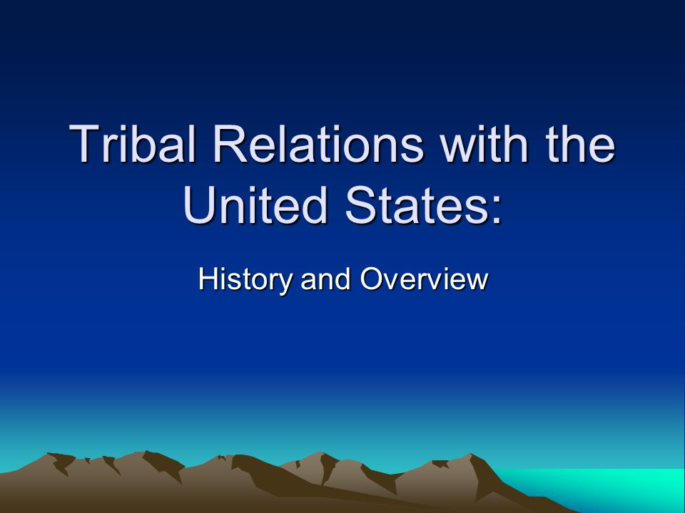 federal state tribal relationship quizzes
