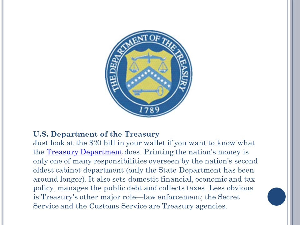 Cabinet Departments and What They Do - ppt download