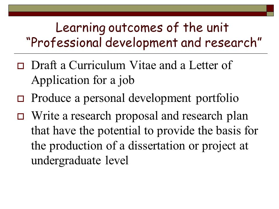 Career Opportunities Professional Development And Research Ppt