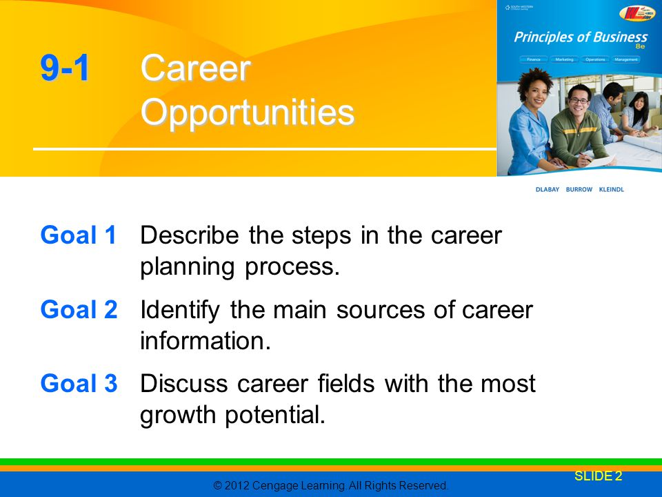 9-1 Career Opportunities